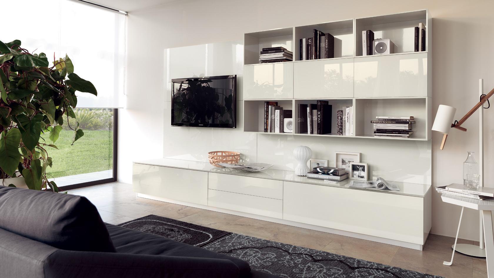 Emejing Soggiorni Living Moderni Images - Casa & Design 2018 ...