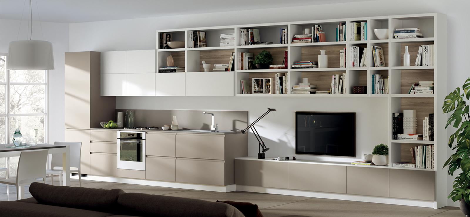 Mobili per soggiorno e salotto a maranello e sassuolo fiorano arredamenti manfredini mauro - Mobili soggiorno scavolini ...