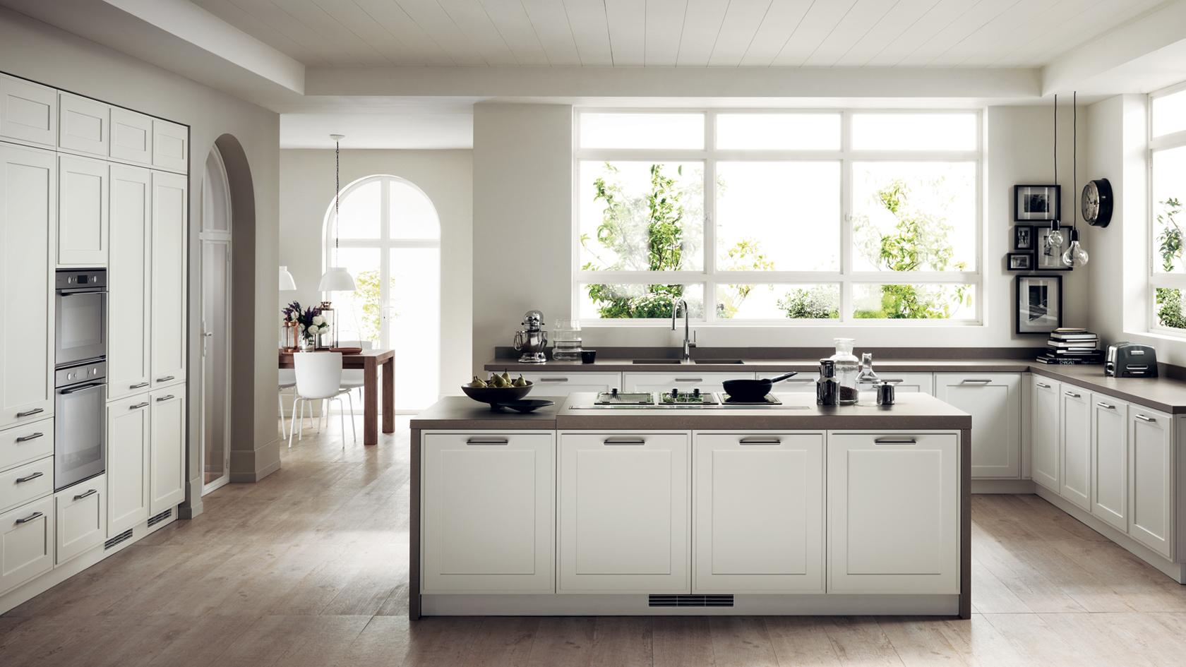 Favilla è la cucina di stile per arredare di tendenza la tua casa
