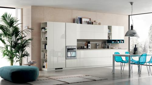 Foodshelf cucina contemporanea