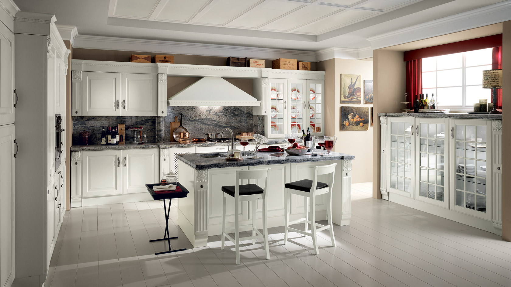 Cucina Baltimora in Rovere by Arredi e Interni a Modena e provincia